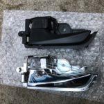 新型コペンの純正インナードアハンドルをライツ製のメッキタイプに交換!