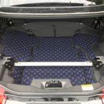 FJ CRAFTの専用ラゲッジマットでコペンのトランク汚れを防止!