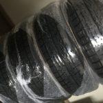 【カーポートマルゼン】ネットでコペン用のスタッドレスタイヤを購入しました!