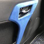 【車内のドレスアップに】コペンの内装にスエード調シートを貼り付けてサラサラに!